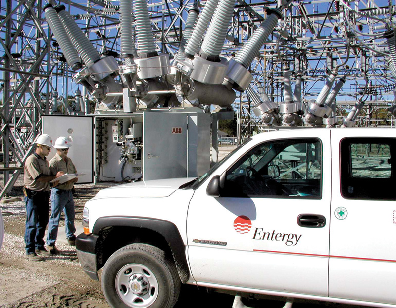 Entergy Employees At A Recently Built New Substation In. Louisiana During  Final Check Out Prior To Energizing. Entergyu0027s Operating Companies Have  Made ...