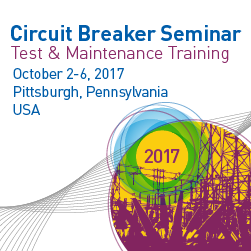Circuit Breaker Seminar | October 2-6, 2017 | Pittsburgh, PA
