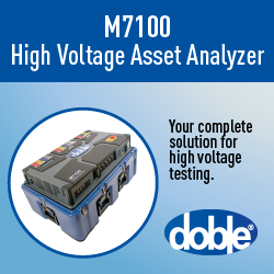 M7100 High-Voltage Asset Analyzer—Make Testing Simple Safe & Efficient