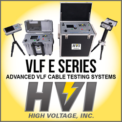 VLF E Series: Advanced VLF Cable Testing Systems | High Voltage, Inc.